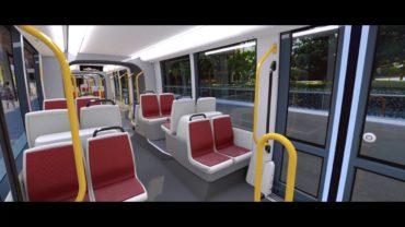 Animasi transportasi kereta ringan baru di Sydney