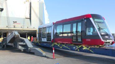 Kereta Ringan Kelas Dunia Tiba di Sydney